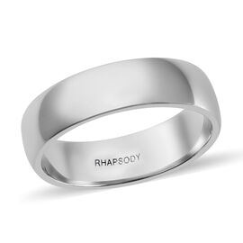RHAPSODY 950 Platinum Band Ring, Platinum wt 6.92 Gms.