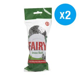 Fairy: Inox Scourer Ball - 3 Pack (Set of 2)