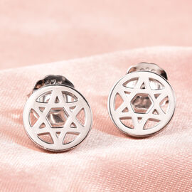 RACHEL GALLEY Chakra Collection - Rhodium Overlay Sterling Silver Stud Earrings (with Push Back)