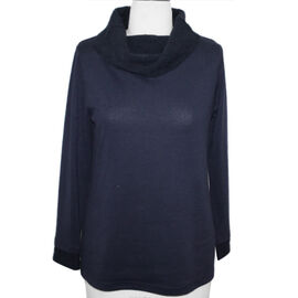 SUGAR CRISP Cowl Neck Jumper Navy