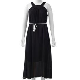 Black Colour One Piece Dress
