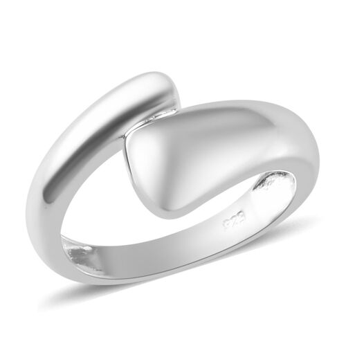 Bypass Ring in Sterling Silver