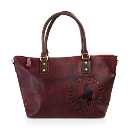 MCS Country Classics: 100% Genuine Leather  Tote Bag