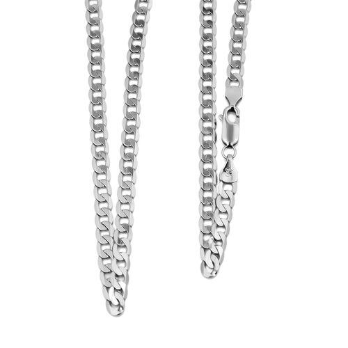 RHAPSODY 950 Platinum Curb Chain (Size 22), Platinum Wt. 8.80 Gms