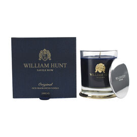 William Hunt: Oud Fragrance Soy Wax Candle - 200g - Burn Time 60hrs