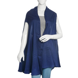 Twilight Blue Colour Round Vest (Free Size)