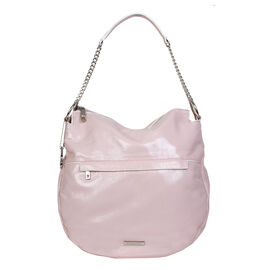 Bulaggi Collection - Nikkie - Patent Hobo Handbag with Adjustable and Removable Strap (24x33x12 cm)