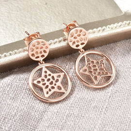 RACHEL GALLEY Shimmer Collection - Rose Gold Overlay Sterling Silver Earrings (with Push Back)