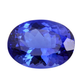 AAAA Tanzanite Oval 13.67X10.02X7.69 Faceted 6.82 Ct.