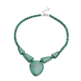 Malachite Necklace (Size 20 with Extender)