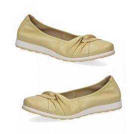 CAPRICE Women Ballerina Sandal  Vanilla Soft