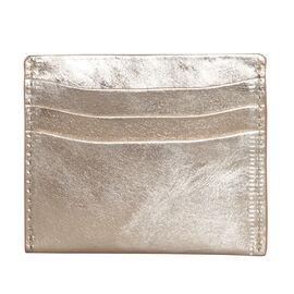 Assots London FANN Credit Card Holder in Rose Gold (Size 10x8cm)