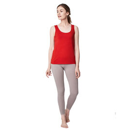 Thought Bamboo Base Layer Singlet in Fox Red Colour