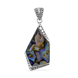 Bali Legacy Collection Abalone Shell Pendant Sterling Silver, Silver wt 6.49 Gms.