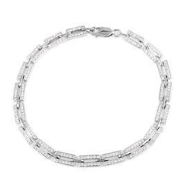 ILIANA 18K White Gold SGL CERTIFIED Diamond (Rnd) (SI / G-H) Bracelet (Size 7.25) 1.201 Ct, Number o