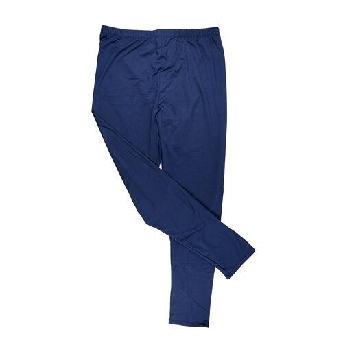 Super Find - Aura Boutique Super Soft Leggings (Size XL, 20-22) - Navy