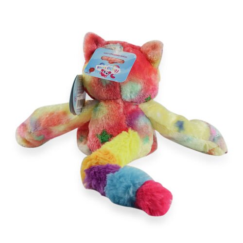 Keel Toys - 25cm Huggems Multi with White Tummy - Racoon