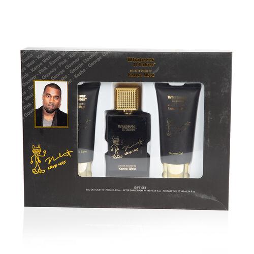 Kanye West Set: Incl. (Eau De Toilette - 100ml, After Shave Balm - 100ml & Shower gel - 100ml)
