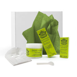 CB&CO: Snail Gift Set (Incl. Snail Facial Serum - 30ml, Snail Face Mask & Snail Day Moisturiser - 50