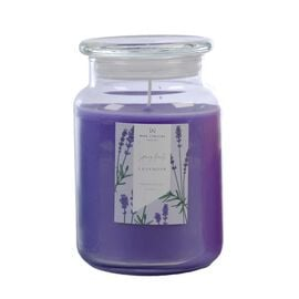 Wax Lyrical England - Lavender Large Candle Jar -  135 Hours Burn Time