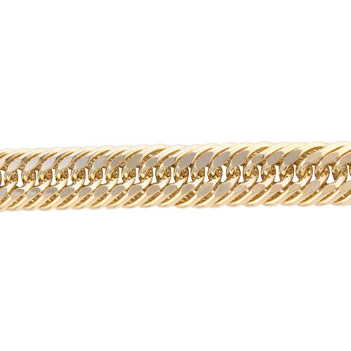 Royal Bali Collection - 9K Yellow Gold Curb Necklace (Size 20), Gold wt 48.30 Gms. (Gold Wt 1.55 Ounce)
