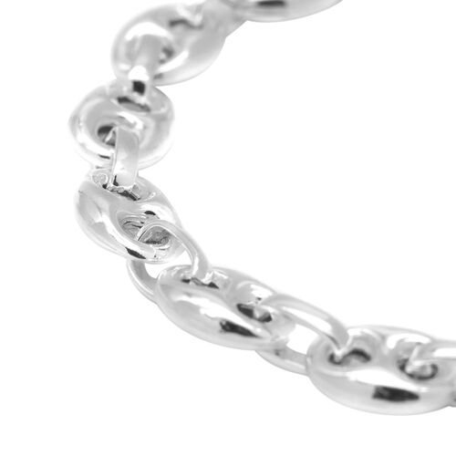 JCK Vegas Collection Anchor Link Bracelet (Size 7) in Sterling Silver 6.80 grams Size 7.25 Inch