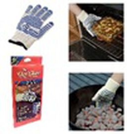 The Ove Glove - Hot Surface Handler Non Slip Silicone Grip Oven Glove - Heat Protection Up To 280 De