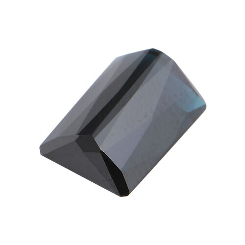 AA Indicolite Octagon 10x6.5 Faceted 2.87 Cts