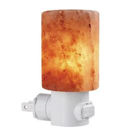 Himalayan Salt Natural Light Lamp Cylinderical Shape (7.5x4.5 Cm) (Including E14/220V/15W Bulb)