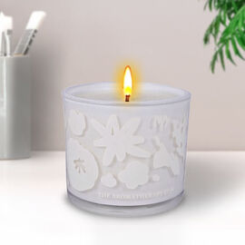 WIDDOP The Aromatherapy Co 100g FLWR Candle - Rose & Dewberry