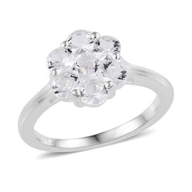 Petalite (Rnd) Ring in Sterling Silver 1.00 Ct.