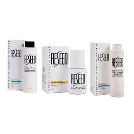Re-Seed: Womens Bundle - R12 Tri Peptide Active Hair Serum, Ginkgo & Sabal Fortifying Shampoo & Whea