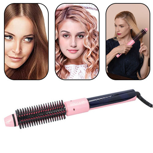 3-In-1 Hair Curler & Brush