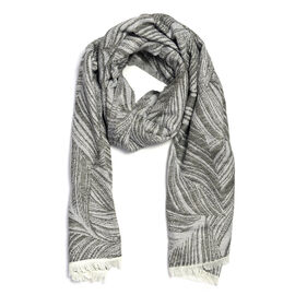 Close Out Deal- Grey Colour Scarf (Size 190x70 Cm)