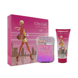 City Girl New York Eau De Parfum 100ml & New York Body Wash 200ml