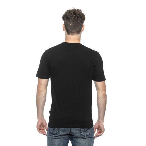 19V69 ITALIA Short Sleeve Crew Neck Logo T Shirt (Size L) - Nero/Black