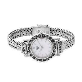 Royal Bali Collection EON 1962 Diamond Studded Swiss Movement Water Resistant Tulang Naga Bracelet W