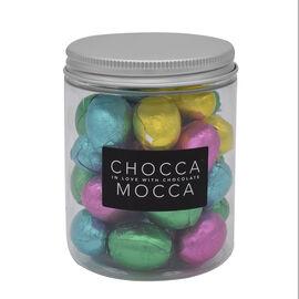 Chocca Mocca Mini Milk Chocolate Easter Eggs Jar 200g