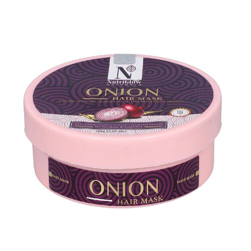 NutriGlow Naturals Onion Hair Mask - 200g