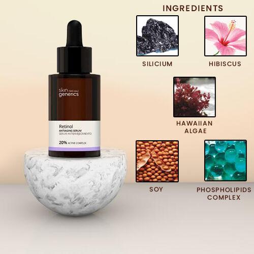 Skin Generics: Anti-Aging Serum Retinol 20% Active Complex 30ml
