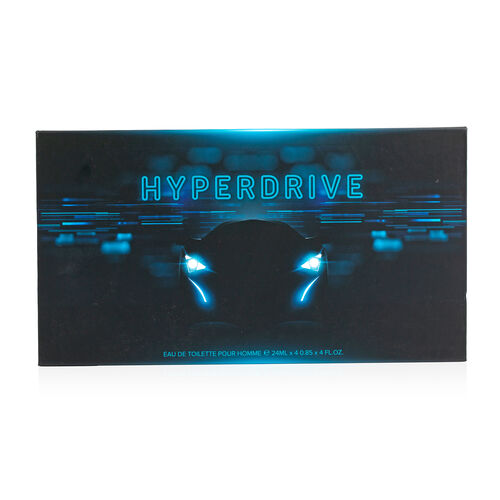 Hyper Drive: Black Car Eau De Toilette (4 Wheels) - 100ml