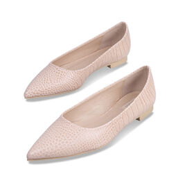 Inyati Violet Peach Croco Shoes