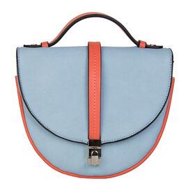 Bulaggi Collection - Babs Crossbody Bag in Light Blue (Size 18x17x08 Cm)