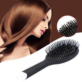 Shungite Infused Hair Brush (Size 26x8.6Cm) - Black