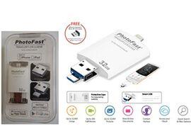 Photofast iFlash Drive All in One Photo Flash Drive Black