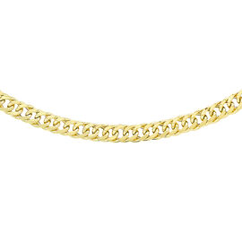 Hatton Garden Close Out 9K Yellow Gold Triple Curb Chain (Size 20), Gold Wt. 5.00 Gms