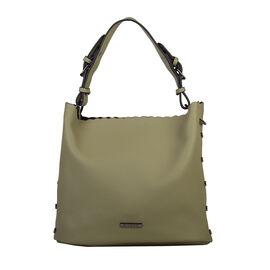 Bulaggi Collection - Hope - Hobo Handbag with Adjustable Shoulder Strap (30x26x14 cm) - Khaki