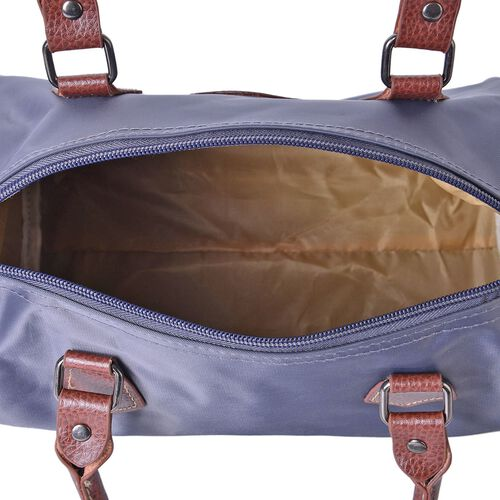 Cashmere Grey Light Weight Water Resistant Bowling Bag with Adjustable Shoulder Strap (Size 28X21X18 Cm)