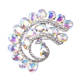 Simulated Mercury Mystic Topaz (Pear), Simulated Mystic White Crystal and White Austrian Crystal Pea