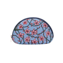 SIGNARE - Tapestry Collection - Blossom and Swallow Cosmetic Bag ( 21 x 14 x 7 Cms )